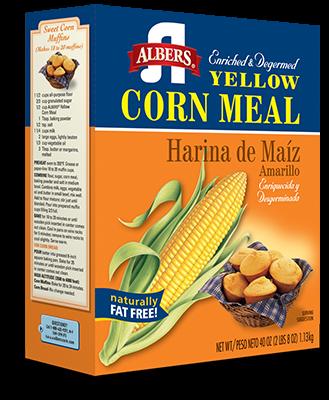 Yellow Corn Meal carton
